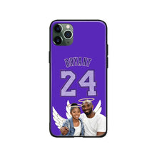 Load image into Gallery viewer, Kobe Bryant gigi Black Mamba salute R.I.P For iPhone 6 6s 7 8 Plus X XR XS 11 Pro Max soft silicone Phone case cover shell