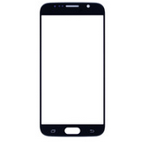 Galaxy S6 Front Screen Glass Lens Black