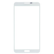 Samsung Galaxy Note 3 III Front Screen Glass Lens White
