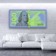 Transparent Benjamin (Blue/Green)