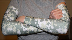 Digital Camo Compression Sleeves