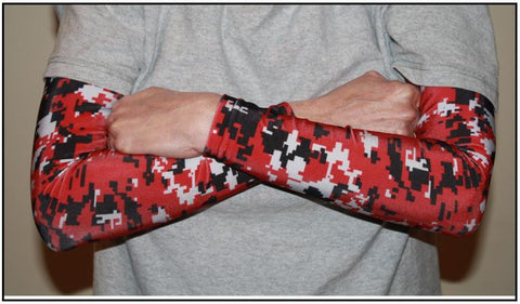 RED Digital Camo Compression Sleeves