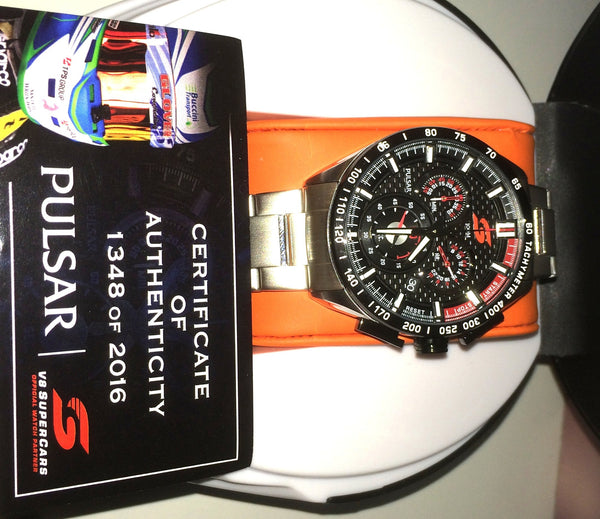 2016 Pulsar V8 Supercars Limited Edition Watch Px7021x H