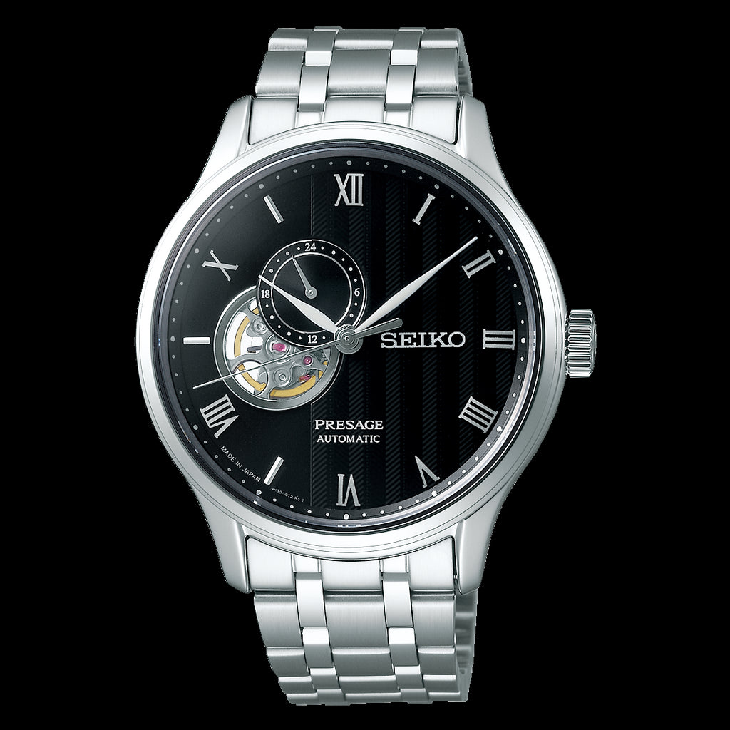 Seiko Presage Automatic Black Face SSA377J1 / SSA377 Now Available