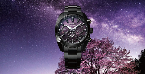 Japanese Enchantment - Yozakura Cherry Blossom Inspired Seiko Astron