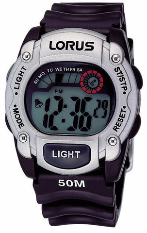 Lorus R2355AX-9 Digital Watch 50M Water Resistant