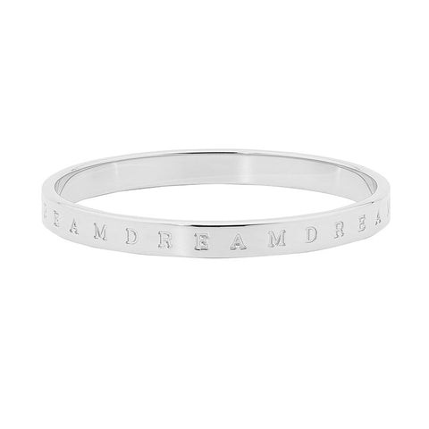 "Ellani Stainless Steel ""DREAM"" Bangle  SB155S"
