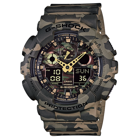 Brown Camo G-SHOCK GA-100CM-5ADR