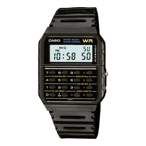 Classic Vintage Calculator Casio Watch CA53W-1