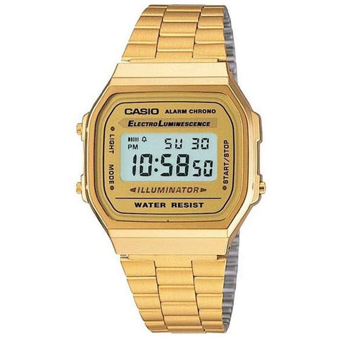 Classic Vintage Gold Casio Watch A168WG-9WDF