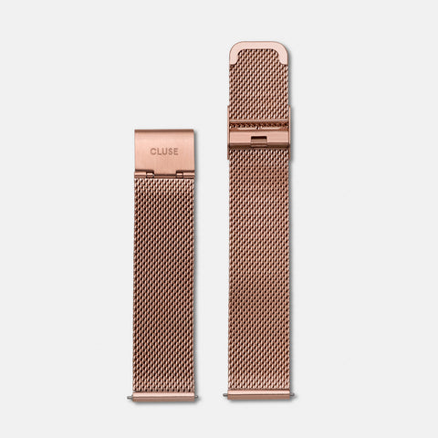 Cluse Rose Gold Mesh Watch Strap CLS047