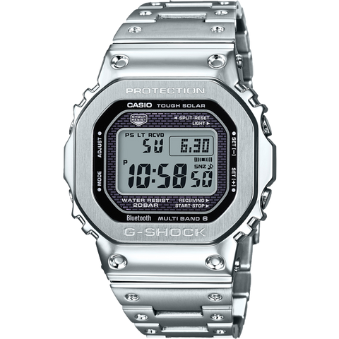 Full Metal G-Shock Watch GMW-B5000D-1DR All Stainless Steel