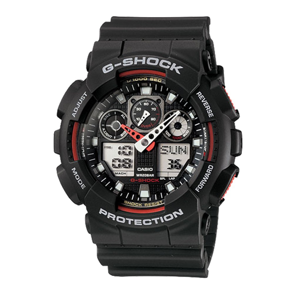 G SHOCK Ana/Dig Duo Black GA-100-1A4DR – H & S Jewellers