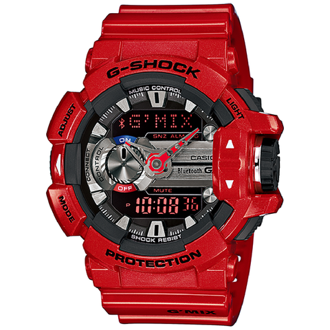G SHOCK Bluetooth G'MIX Red Watch GBA-400-4A