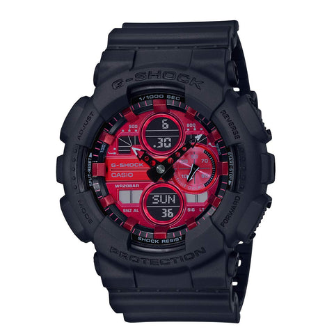 G SHOCK GA-140AR-1A Adrenalin Red Series Watch