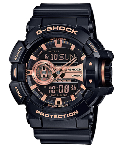G SHOCK GA-400GB-1A4DR GShock Watch Black Copper Highlights