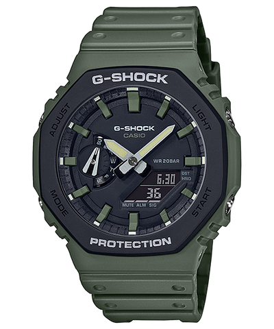 G-SHOCK  Carbon Core Guard Utility Colour Edition GA-2110SU-3ADR Watch
