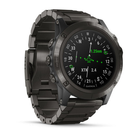 Garmin D2™ Delta PX - Aviator Watch With DLC Titanium Band 010-01989-32