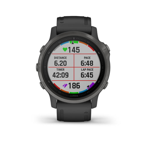 Garmin fēnix® 6S Sapphire Edition - Carbon Grey DLC With Black Band 010-02159-26