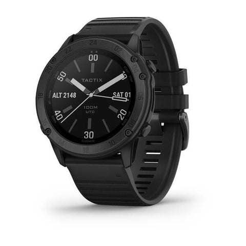 Garmin tactix® Delta - Sapphire Edition With Black Silicone Band 010-02357-02