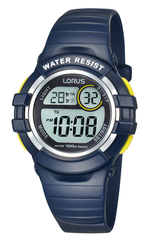Lorus R2381HX-9 Youth Digital Blue Watch