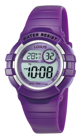 Lorus R2385HX-9 Youth Digital Purple Watch