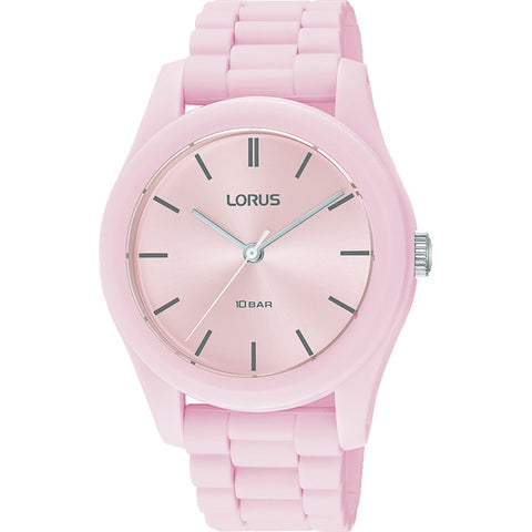 Lorus RG257RX-9 Youth Pink Silicone Strap 100m Watch