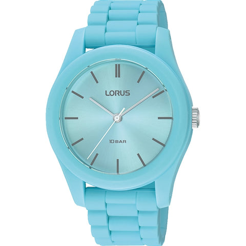 Lorus RG259RX-9 Youth Blue Silicone Strap 100m Watch
