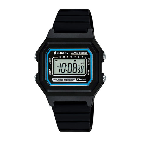 Lorus R2317NX-9 Youth Digital Black & Blue Watch