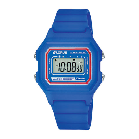 Lorus R2319NX-9 Youth Digital Blue Watch