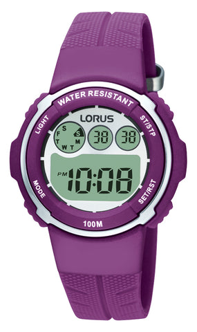 Lorus R2379DX-9 Youth Purple Digital Watch