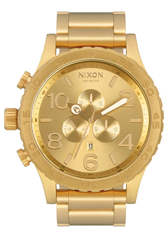 NIXON 51-30 Chrono All Gold / Gold Face Gents Watch A083-502-00