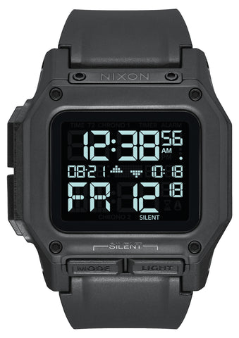 NIXON Regulus Digital All Black Watch A1180-001-00
