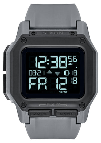 NIXON Regulus Digital All Gunmetal Colour Watch A1180-632-00