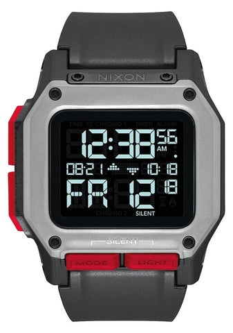 NIXON Regulus Digital Black /Red Watch A1180-008-00