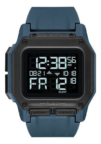 NIXON Regulus Digital Dark Slate Watch A1180-2889-00