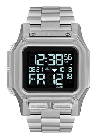 NIXON Regulus Digital Stainless Steel Watch A1268-000-00