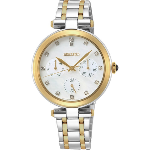 Seiko Ladies Stainless Steel Diamond Set Watch SKY660P