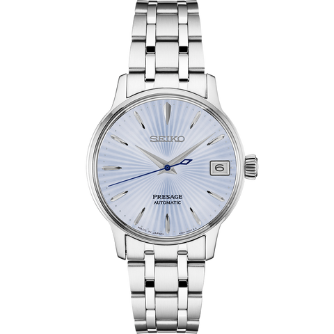 Seiko Presage Cocktail Ladies Ice Blue Dial Automatic Watch SRP841J