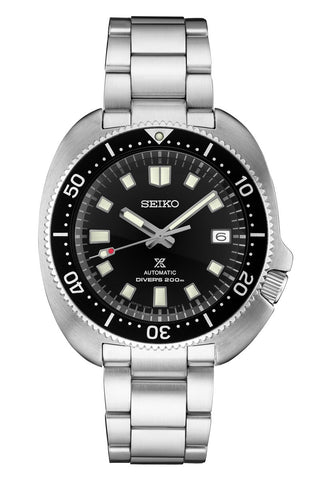 Seiko SPB151J Prospex 'Captain Willard' Automatic Dive Watch Black Dial