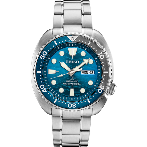 "Seiko SRPD21K Automatic Divers Watch Prospex ""Save The Ocean Great White"" Turtle Special Edition"