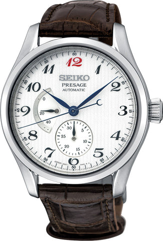 SPB059J Seiko Presage Automatic Watch Leather Strap