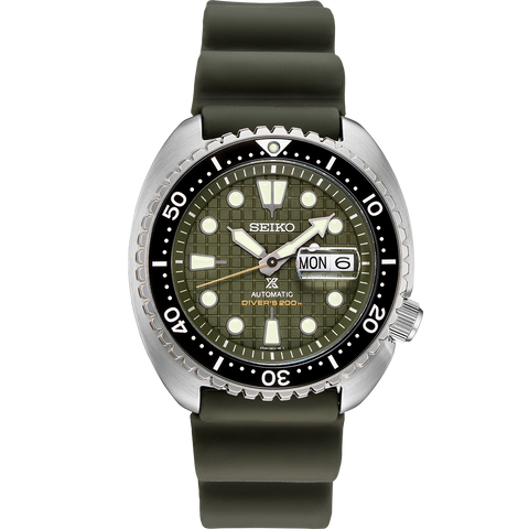 "SRPE05K1 Seiko ""King Turtle"" Automatic Divers Prospex Watch"