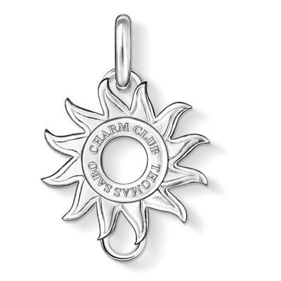 Thomas Sabo Sterling Silver Charm Sun Carrier CX0176