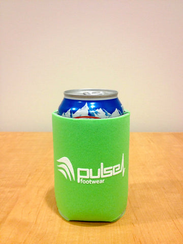 Lime Green Koozie