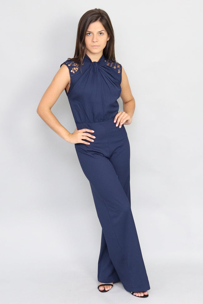 Adelaide Chilli Lace Jumpsuit