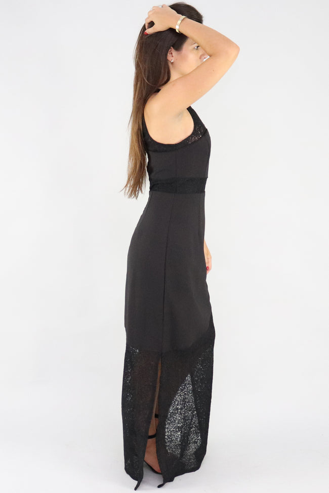 Suspicious Minids Splica Maxi Dress