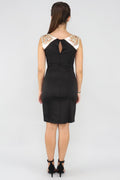 Geo Laser Cut Bodycon