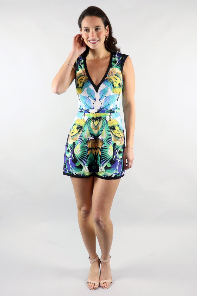 Birds Of Paradise Playsuit