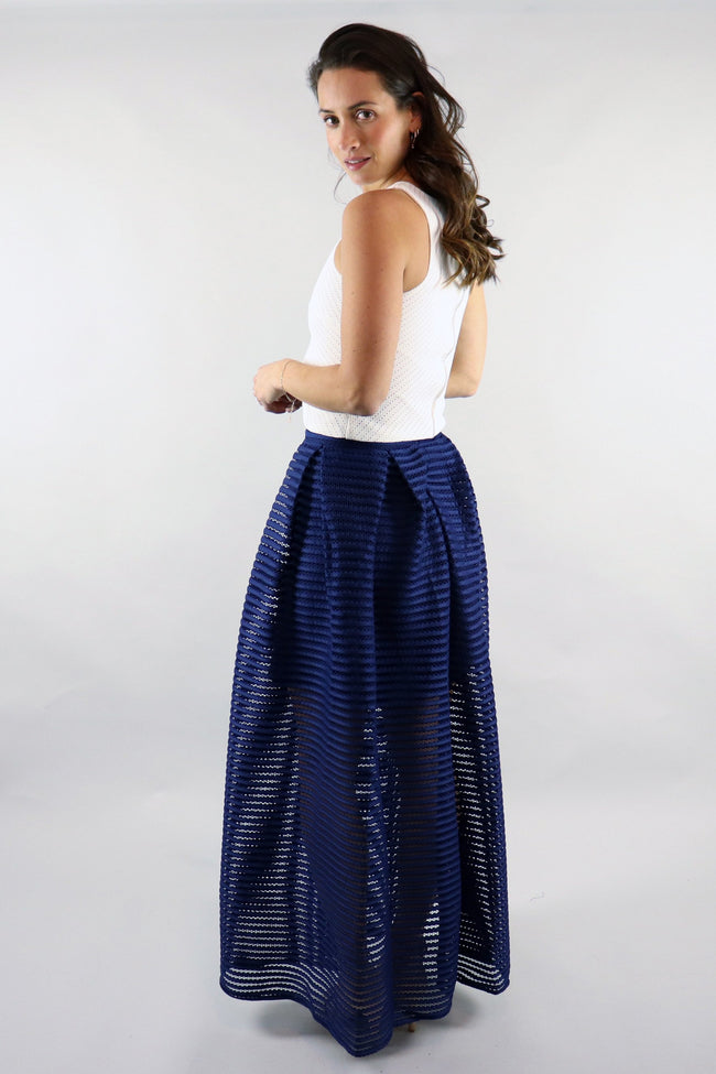 Classic A-Line Maxi Skirt